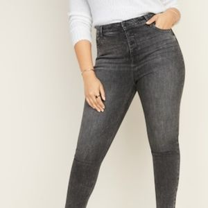 Old Navy Rock Star Super Skinny High Rise Jeans
